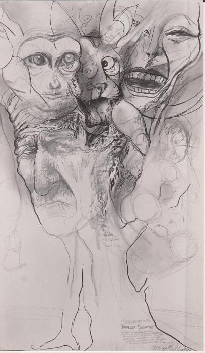 Johannes Schepp Zeichnungen Iii